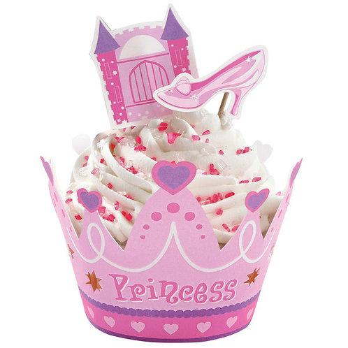 Princess Cupcake Wraps n Picks