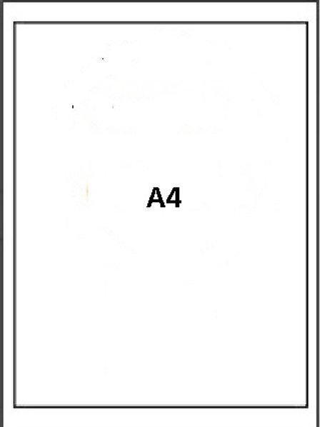 Custom Edible Printing - A4 Size