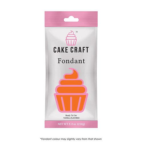 Cake Craft Fondant - Sunset Orange 250g