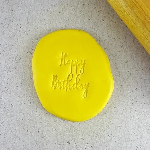 Happy Birthday Cookie/ Fondant Embosser