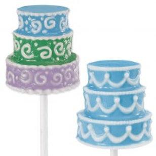 3D Wedding Cake Candy Lollipop Mould