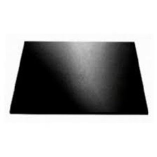 Masonite Square Black Cake Board - 8 inch