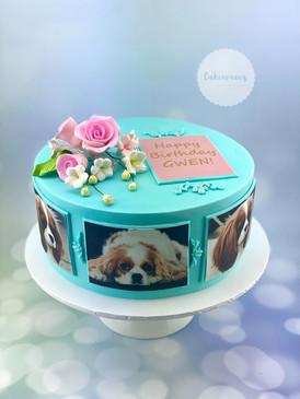 Fondant Dog Cake
