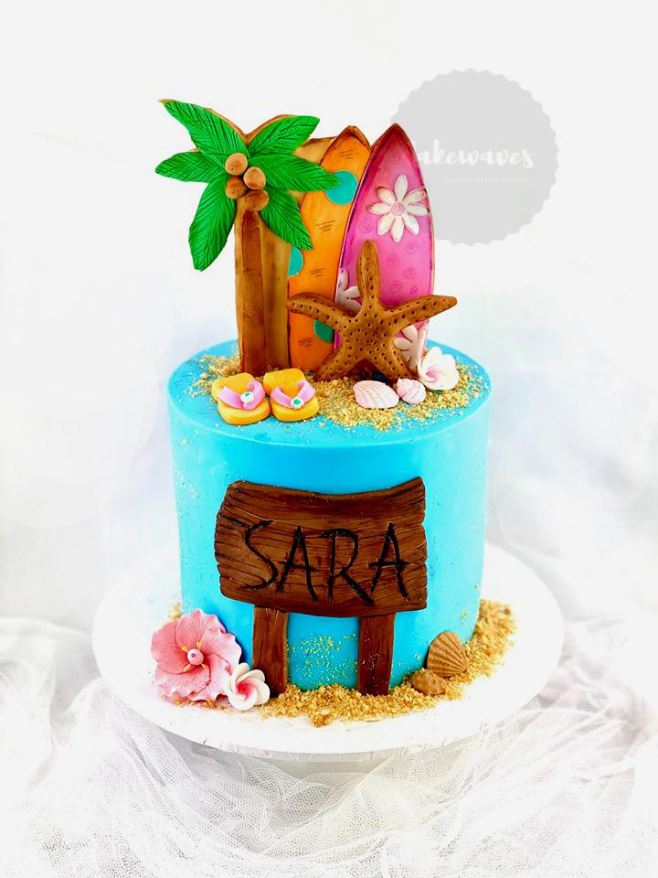 Surf Cake