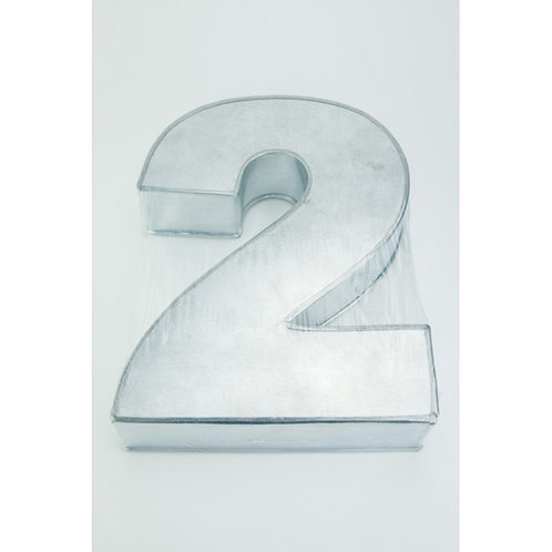 NUMBER TWO - 2 - CAKE TIN - HIRE