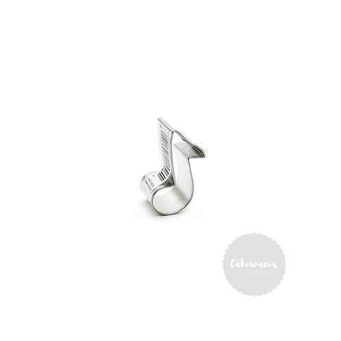 "MUSIC NOTE 2.5""  Stainless Steel Cookie Cutter"