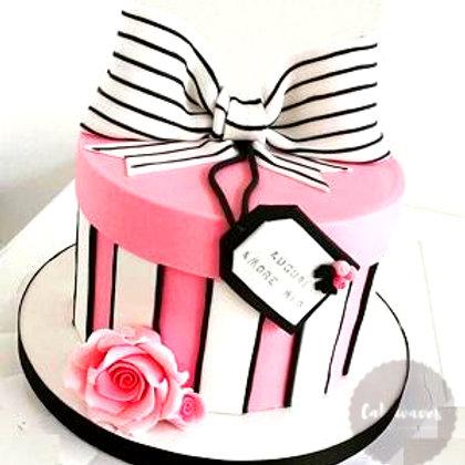 Fondant Gift Box Cake Class