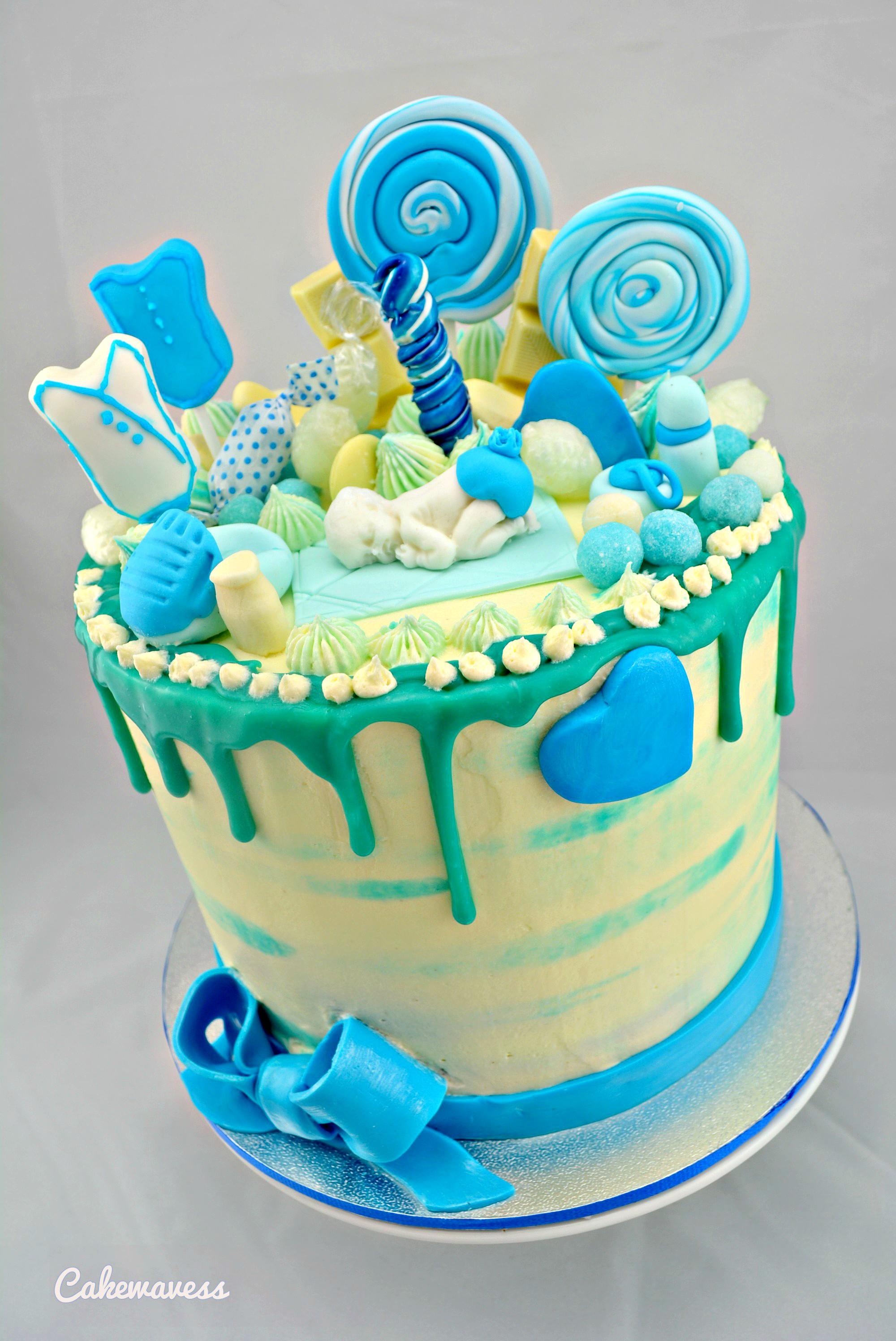 BabyShowerCake_cakewaves
