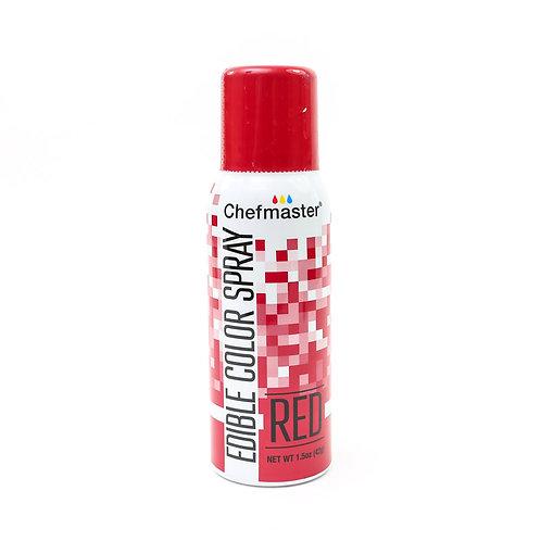 Chefmaster Edible Spray - Red