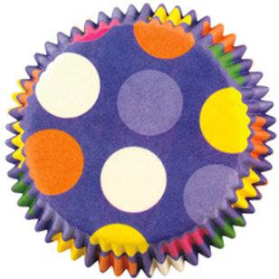 Mini Dazzling Dots Baking Cups