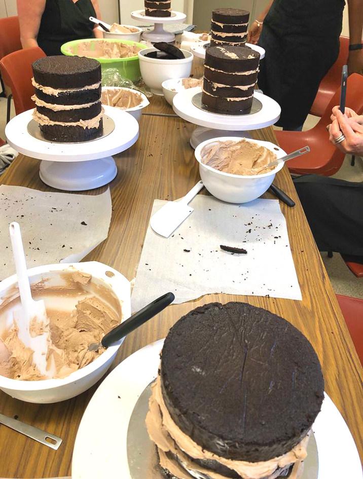 Feb 2019 Chocolate cake Class