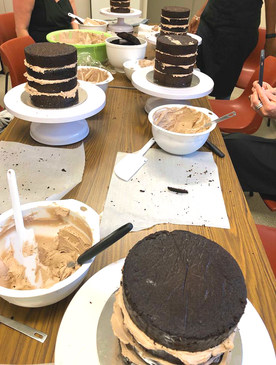 Feb 2019 Chocolate cake Class
