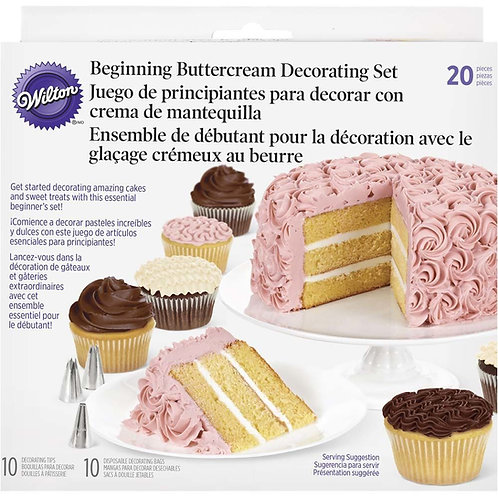 20pc Beginning Buttercream Decorating Set - Wilton1