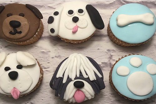 I Love my Dog Cupcake Decorating Class for KIDS