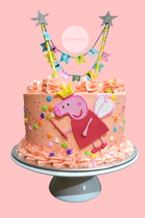 Princess Peppa Birthday Cake