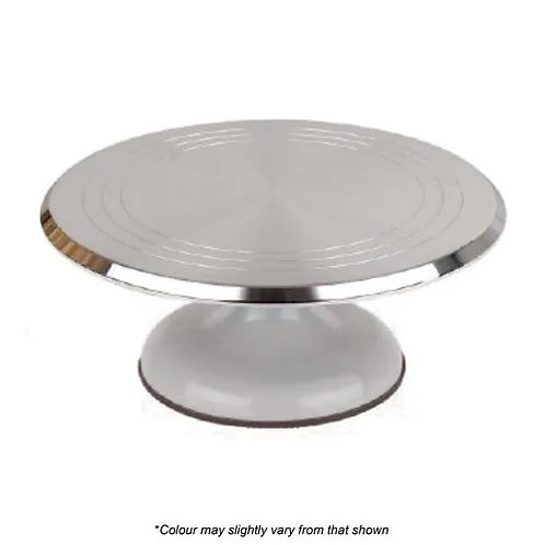 Cake Craft Heavy DutyTurn Table - Silver