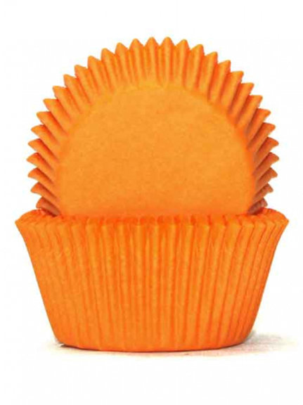 Cupcake Cases / Baking Cups Standard 100pc - Orange