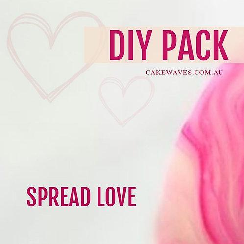 DIY Cupcake Activity Pack - Spread Love