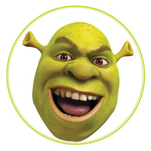Shrek Face - Round