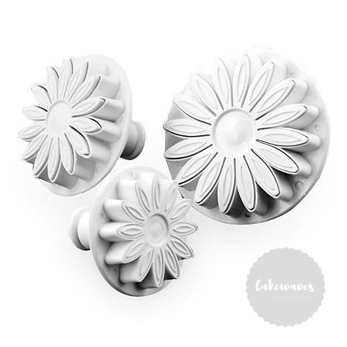 Gerbera Plunger Cutter 3pc