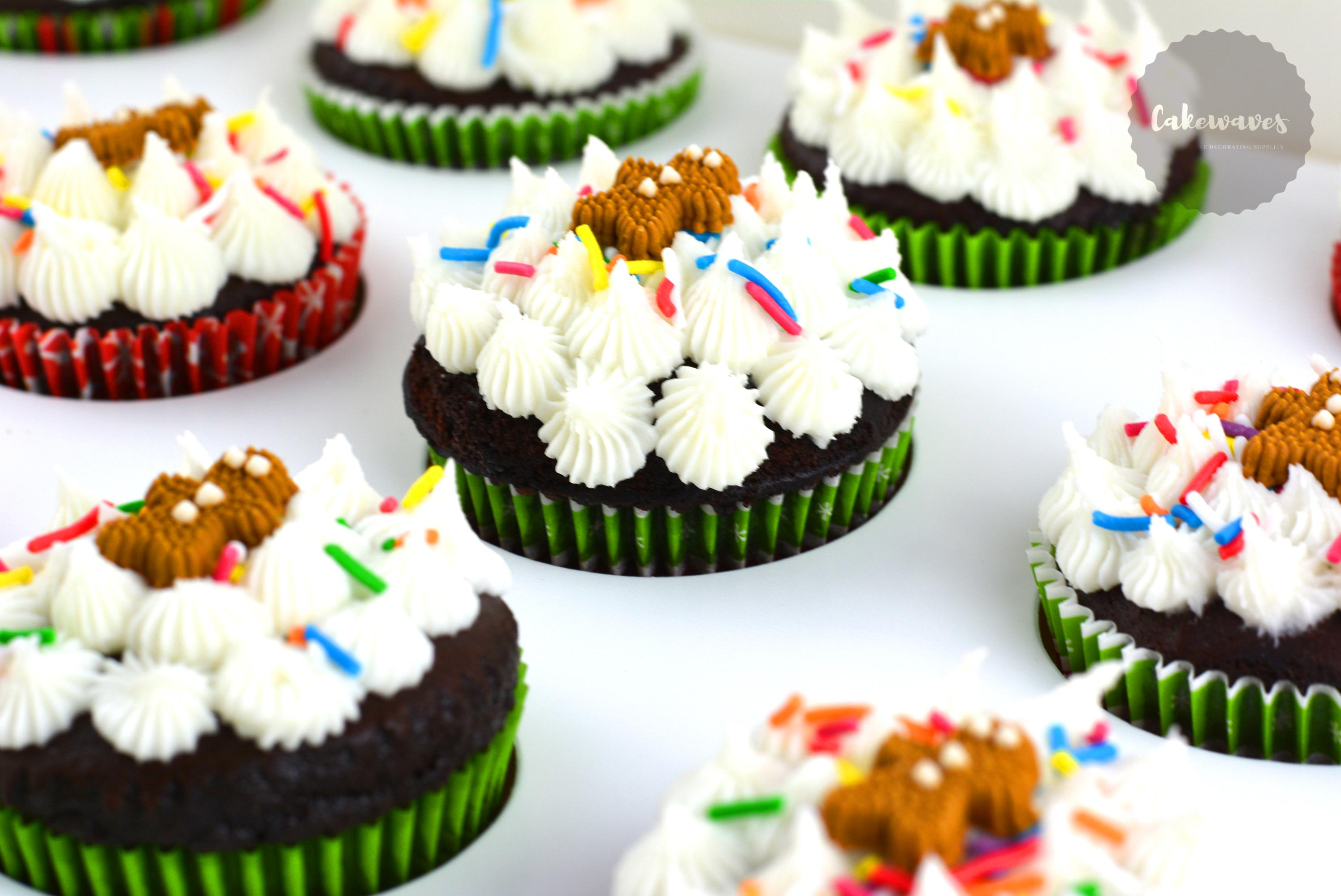Ginger Breadman Cupcakes