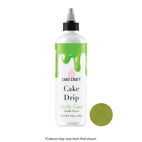 Cake Craft Cake Drip - Lively Lime 250g