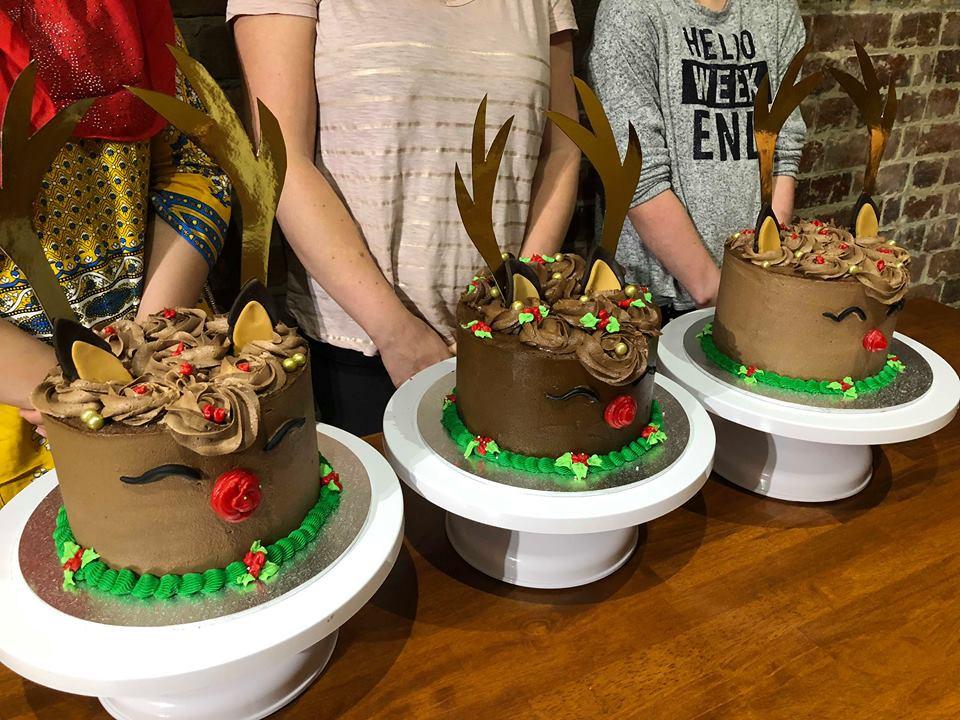 Rain Deer Cake Class 2-1