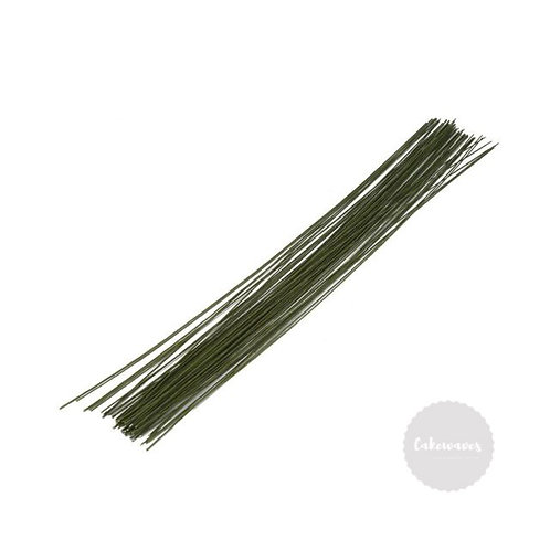 Flower Wire 18 Gauge - Dark Green