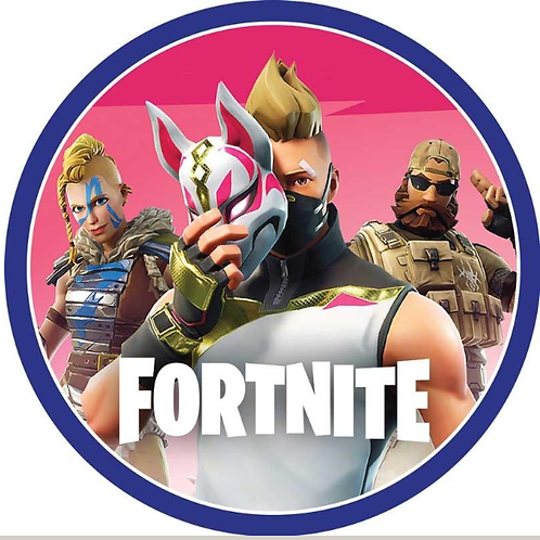 Fortnite Edible Image Style1 - Round