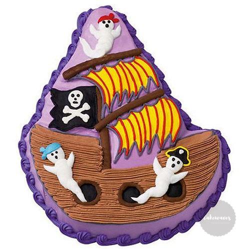 Pirate Ship Cake Pan - Wilton sample2