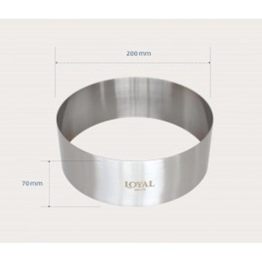 Food Stacker / Ring - 200mm Round