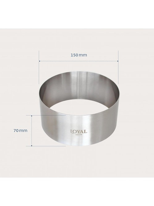 Food Stacker / Ring - 150mm Round