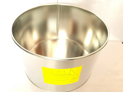8 Inch Sharp Edge Round Cake tin - 5 Inch Deep