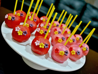Cake Lolly pops for party table