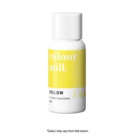 Colour Mill Oil Based Food Colour 20ml - Yellow