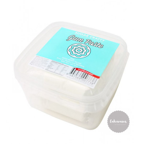 Sugar Crafty Gum Paste 250g - White
