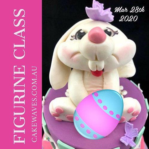 Easter Bunny Fondant Figurine Class - 28 Mar 2020