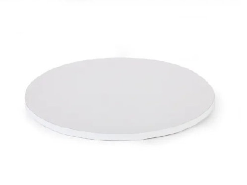White Drum MDF Cake Board - 10 inch