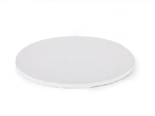 White Drum MDF Cake Board - 14 inch