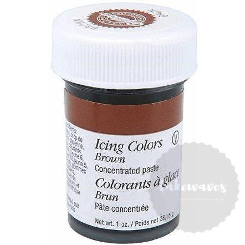 Brown Wilton Icing Color