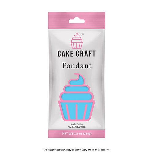 Cake Craft Fondant - Sky Blue 250g