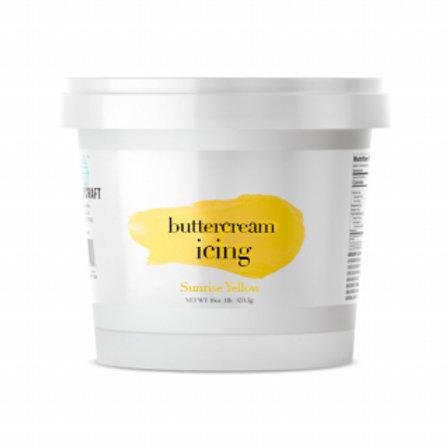 Cake Craft Buttercream - Sunrise Yellow 453g