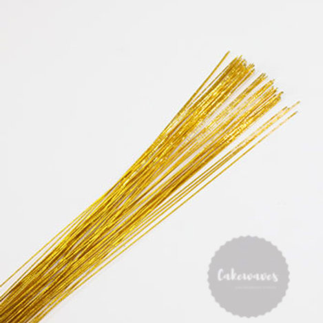 Flower Wire 20 Gauge - Gold