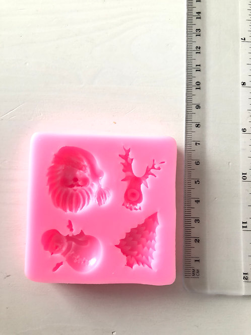 Multi cavity Christmas Silicone mould