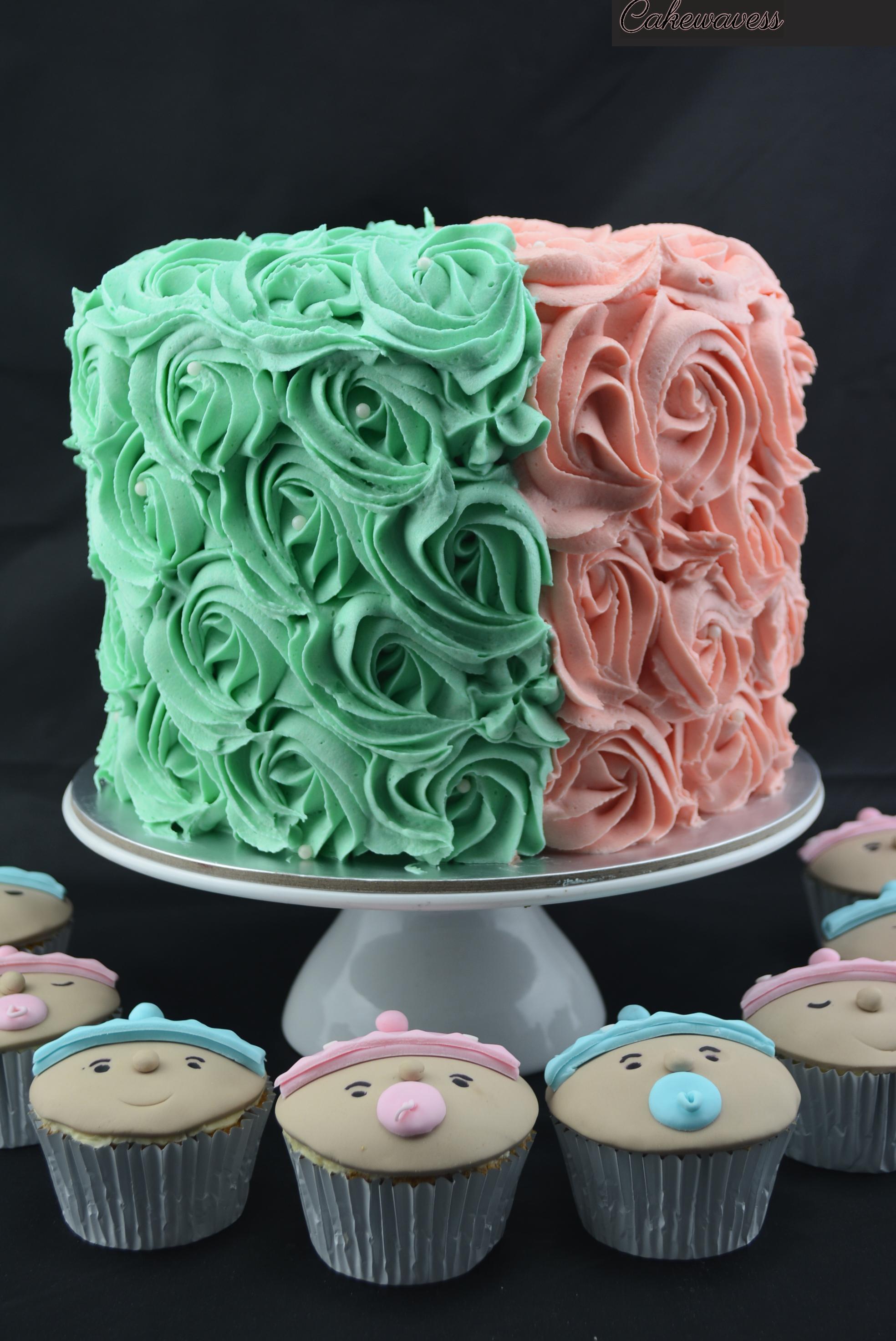 GenderRevealCake_cakewaves