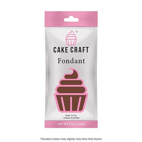 Cake Craft Fondant - Java Brown 250g