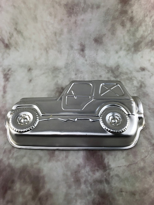 Jeep Cake Pan - Hire