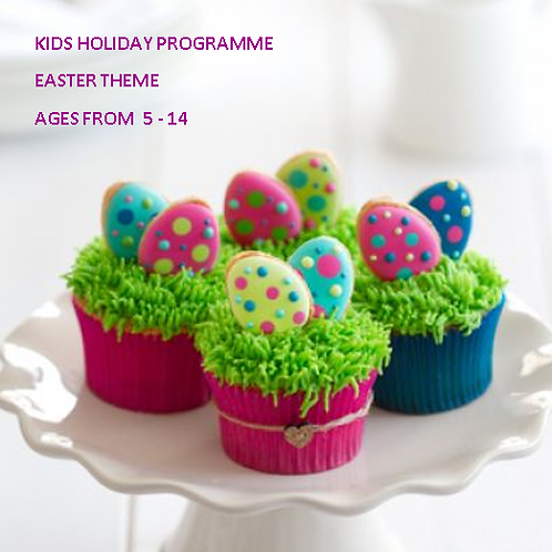 Easter Egg Cupcake Class - KIDS Holiday Programme