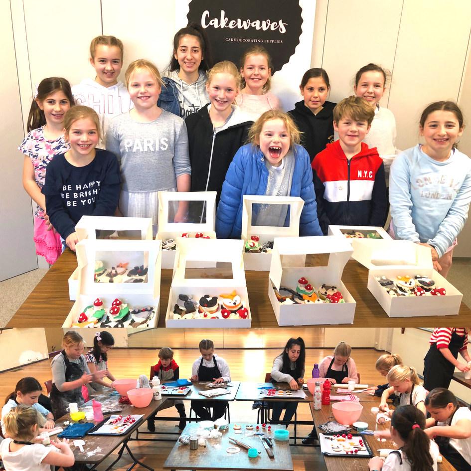 July 2019 school holiday Cupcake class1