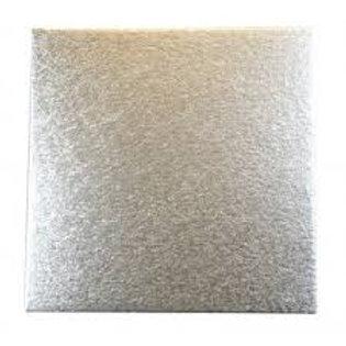 Masonite Rectangle Silver Cake Board - 12 inch x 18 inch